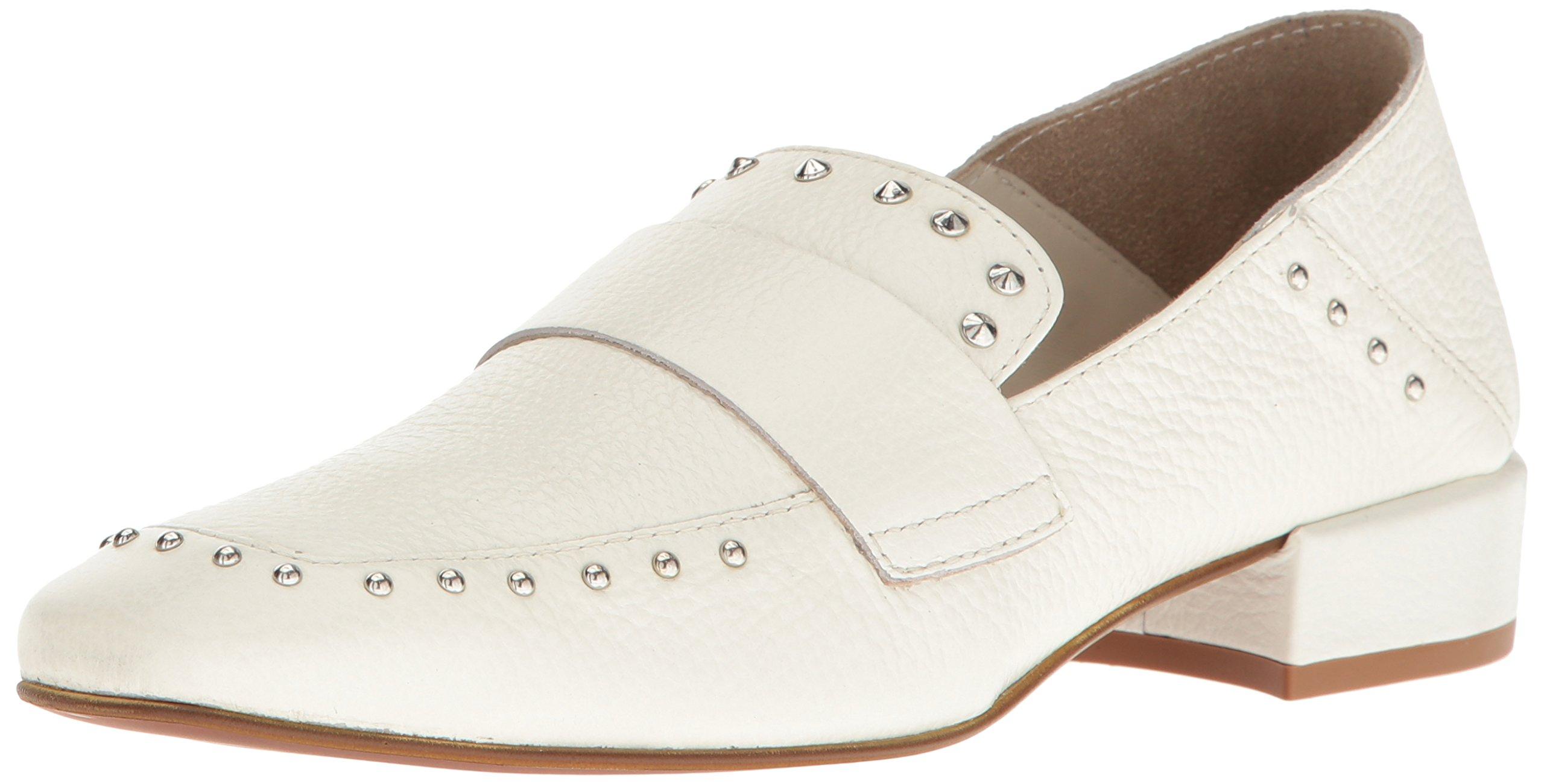 Kenneth Cole New York Women's Bowan 2 Slip-on Loafer, White, 7 M US