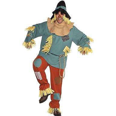 SUIT YOURSELF Disfraz de espantapájaros para Hombre, Mago de Oz ...