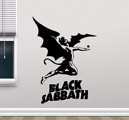 WSJIABIN Black Sabbath Tatuajes de Pared de Metal Pesado Música ...