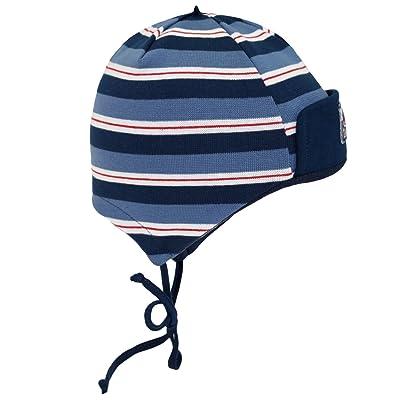 Fiebig Bonnet De Bébé Garçon Cravate À Lanières Cap D Automne Chapeau  D Hiver 7ca03c8a0db