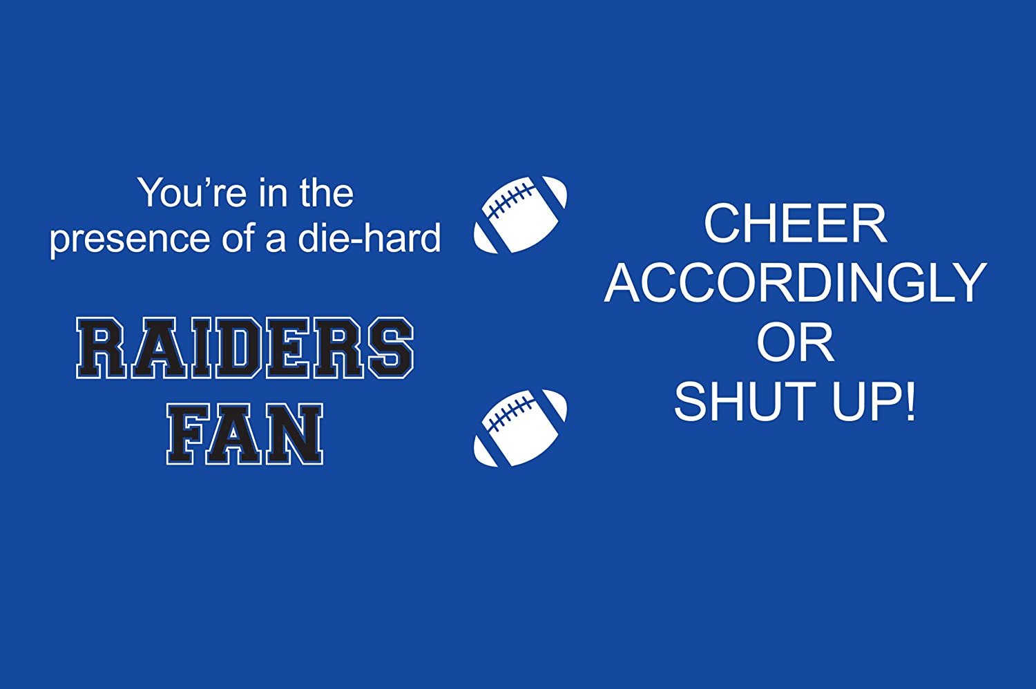 Tree-Free Greetings sg24490 Raiders College Football Fan Sip N Go Stainless Steel Lined Travel Tumbler 16-Ounce