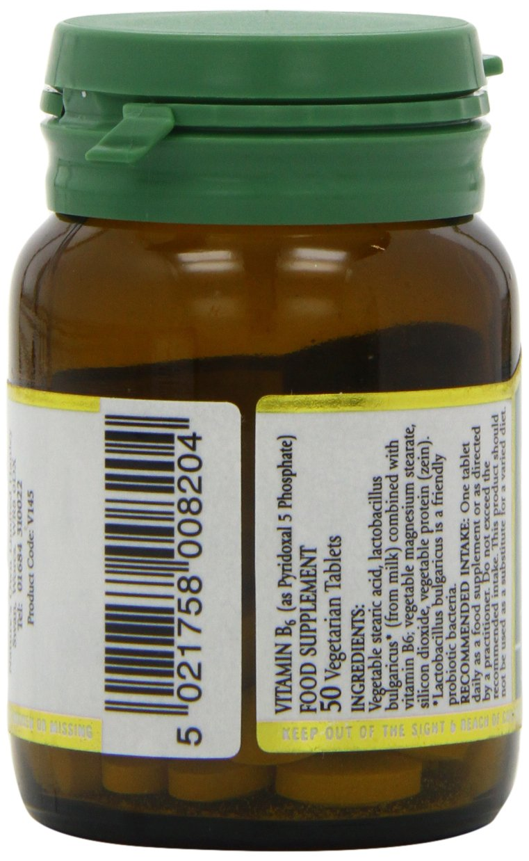 Amazon.com: Natures Own Vitamin B6 20mg 50 tablet: Health & Personal Care