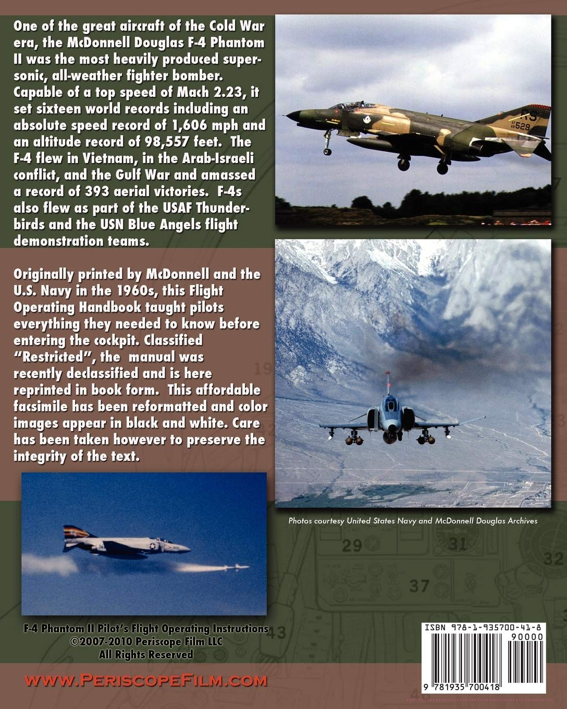 F-4J and F-4S Flight Manual Pilot's Handbook Flight Manual.....CD ...