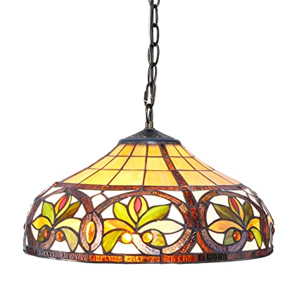 1908 studios sunrise tiffany hanging lamp - Hanging Lamp