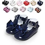 Sabe Infant Baby Girls Soft Sole Prewalker Crib Mary Jane Shoes Princess Light Shoes