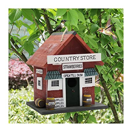 Remarkable Mortime Wood Bird House Retro Arts And Crafts Country Cottages Bird House Woodland Cabin Birdhouse Outdoor Decor And Interior Wooden House Decor Interior Design Ideas Tzicisoteloinfo