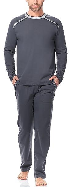 Italian Fashion IF Hombre Pijamas 2017 0223 (Grafito, M)