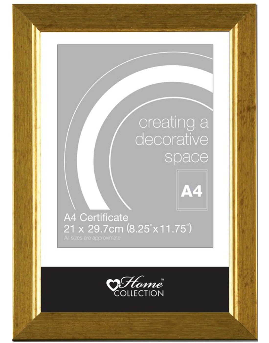 Anker Foto/Bilderrahmen für Zertifikat, A4, 21 x 29, 7 cm ...