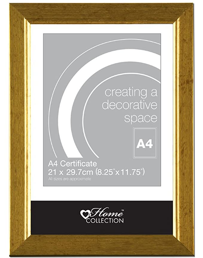 Anker Home Collection A4 Black Certificate Photo/Picture Frame ...