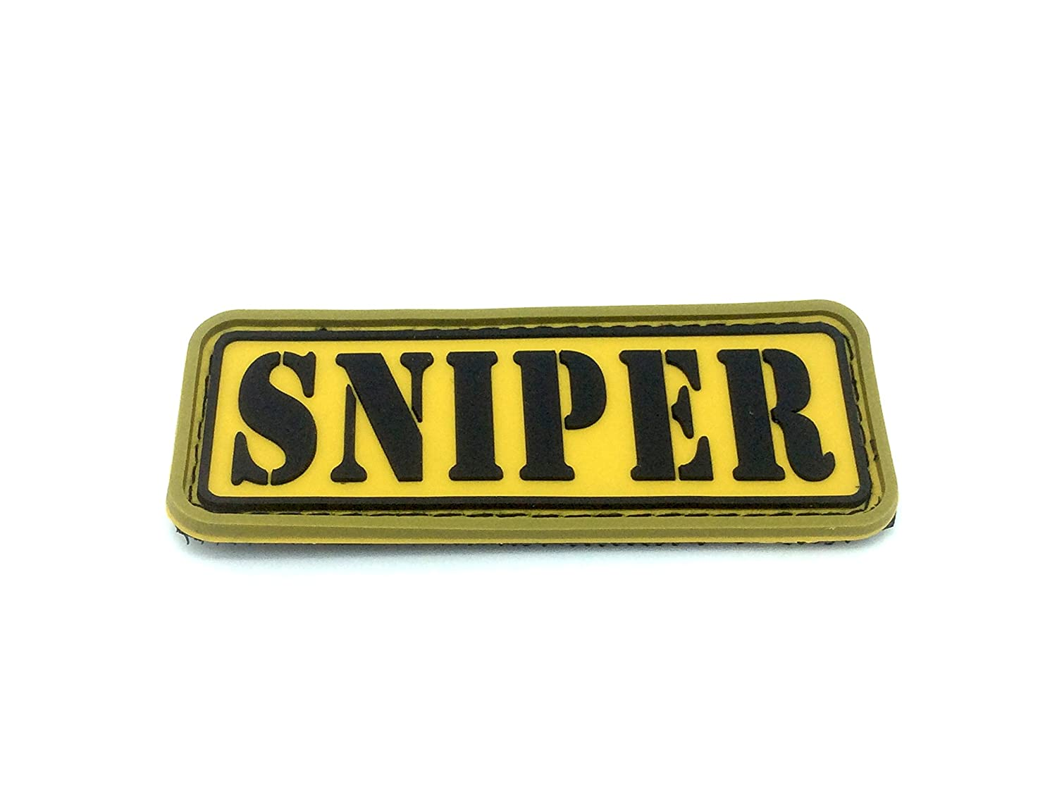Sniper Airsoft Paintball Patch PVC Toppa Patch Nation