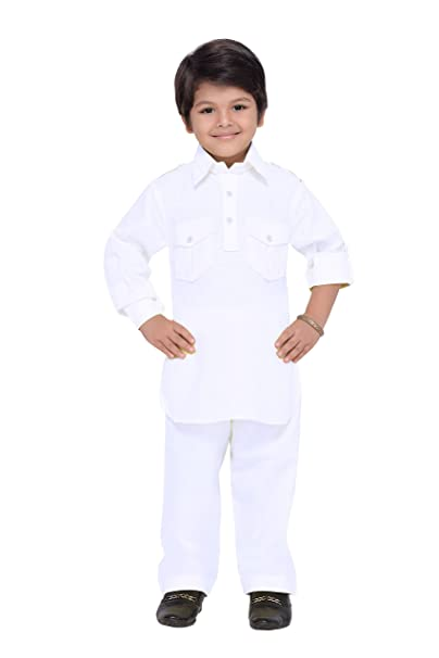 Amazon.com: AJ dezines Kids indio étnico pathani Suit Set ...