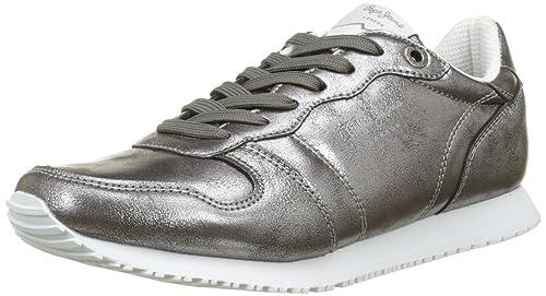 Pepe Jeans Gable Plain, Zapatillas para Mujer: Amazon.es: Zapatos y complementos