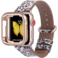 JSGJMY Compatible Apple Watch Band with Case (38mm/40mm)