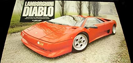 Lamborghini Diablo 1990 >> Amazon Com Original Print Road Test 1990 Lamborghini