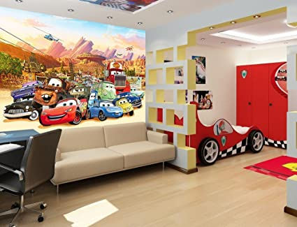 Poster Murali Per Camere Da Letto : Adesivi da parete per bambini poster murali motivo cars per