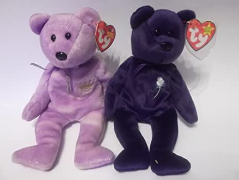 c89e46452f0 Image Unavailable. Image not available for. Color  Ty Beanie Yours Truly  and Princess Bear Set