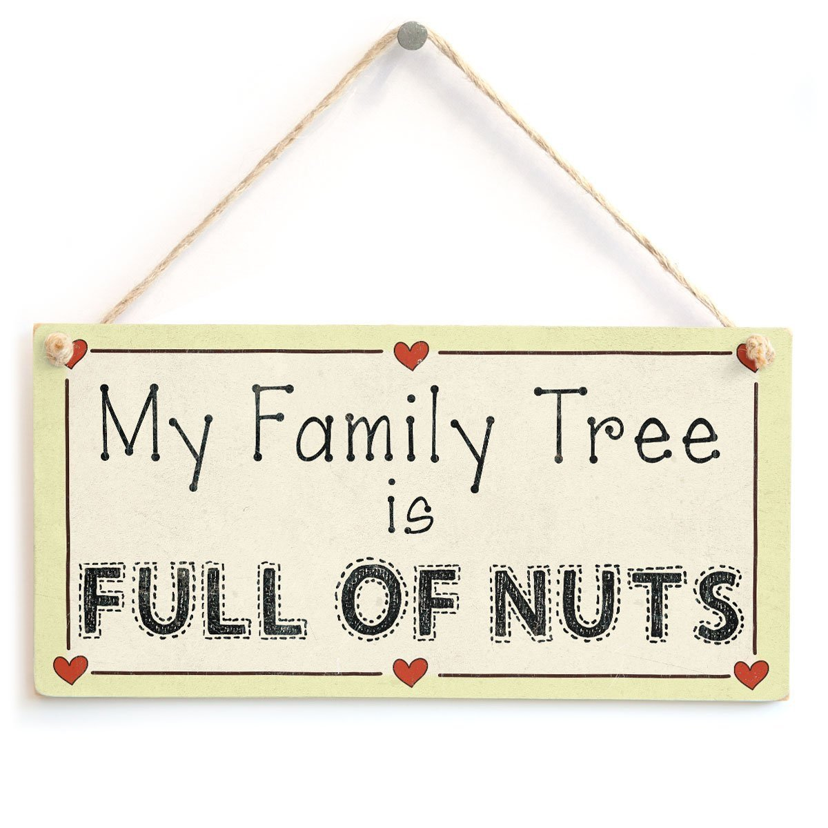 Beautiful Family Home Accessory Gift Sign 10x5 Meijiafei Family Stands with You Always!