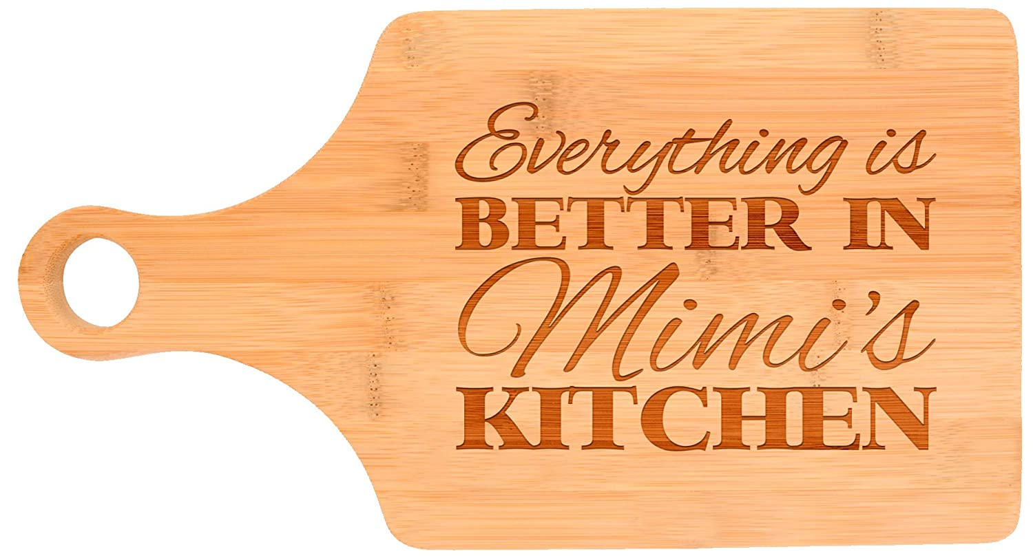 Amazon.com: Everything Is Better in Mimi\'s Kitchen Décor Grandma ...