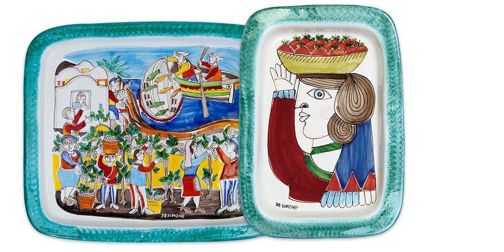 Ceramica De Simone Catania.Ceramiche De Simone Amazon Handmade