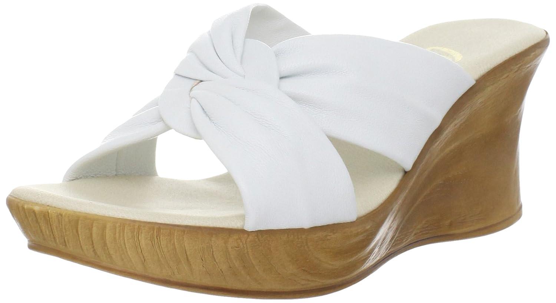 Onex Women's Puffy Wedge Sandal B000QU6EOU 6 M US|White