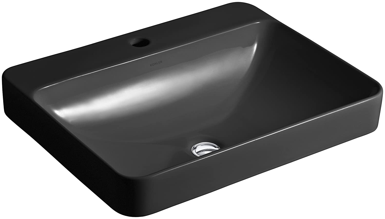Kohler K 2660 1 96 Vox Rectangle Vessel Above Counter Bathroom Sink With Single Faucet Hole Biscuit Tools Home Improvement Vessel Sinks Fcteutonia05 De