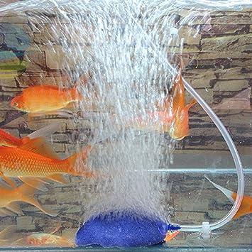 Dabixx Difusor de piedra de aire para acuario, diseño de burbujas: Amazon.es: Hogar