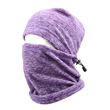 a89f22cc7 Triwonder Balaclava Hood Hat Thermal Fleece Face Mask Neck Warmer Winter  Ski Mask Full Face Cover Cap