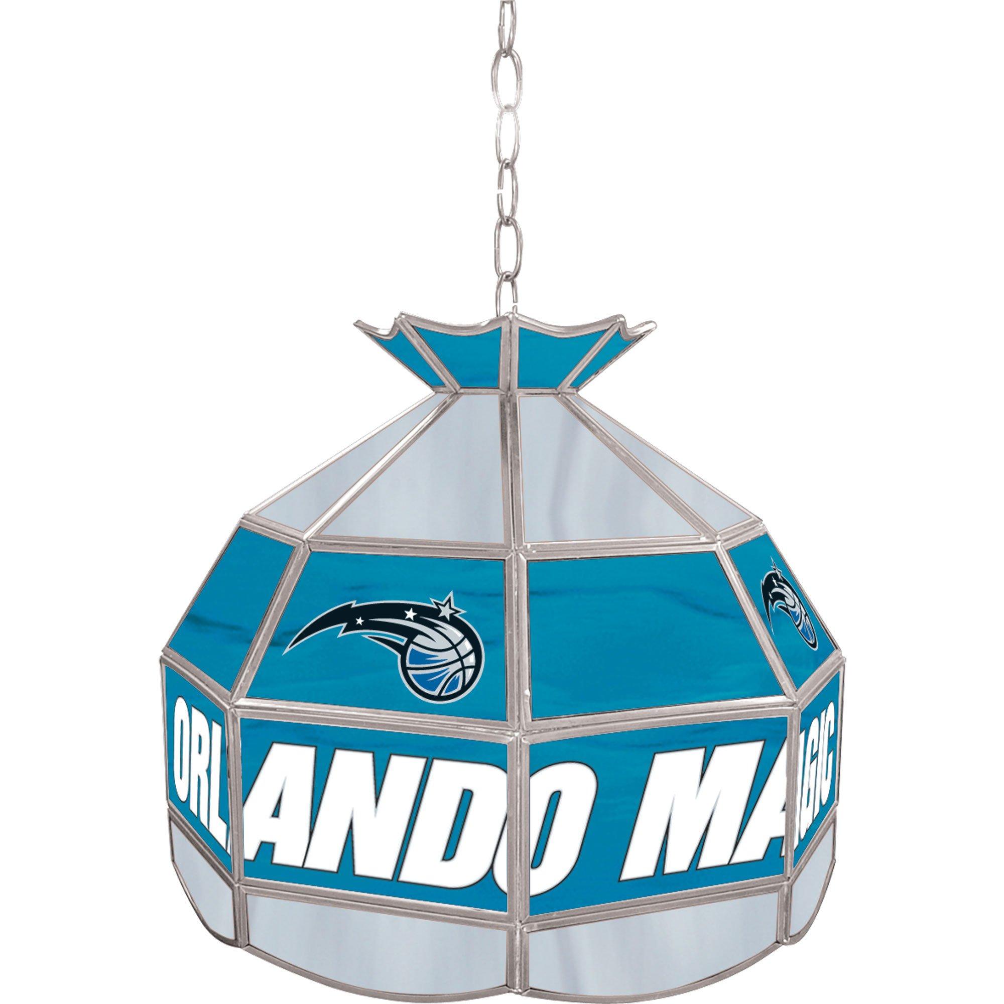 NBA Orlando Magic Tiffany Gameroom Lamp, 16''
