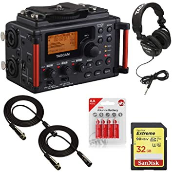 Tascam DR60DMKII - Grabadora de Campo Digital Lineal PCM ...