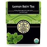 Buddha Teas Organic Lemon Balm Tea | 18 Tea Bags | No Caffeine