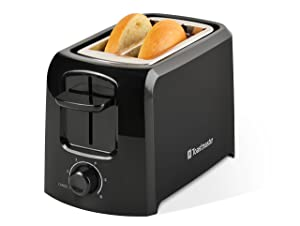 Toastmaster TM-24TS 2-Slice Cool Touch Toaster, Black