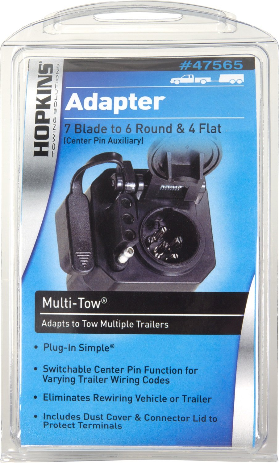 Amazon.com: Hopkins 47565 Multi-Tow Adapter: Automotive