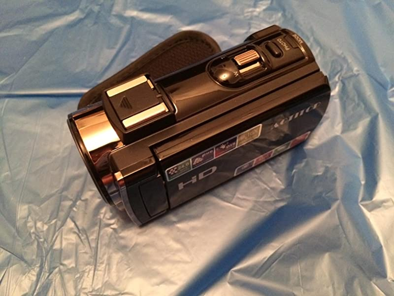 ACTITOP-デジタルビデオカメラ-16倍デジタルズーム-IR夜視機能-3-0インチタッチモニター-超広角レンズ搭載