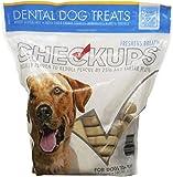 Checkups- Dental Dog Treats, 24ct 48 oz. for dogs (Pack of 2) ,Checkups-fj