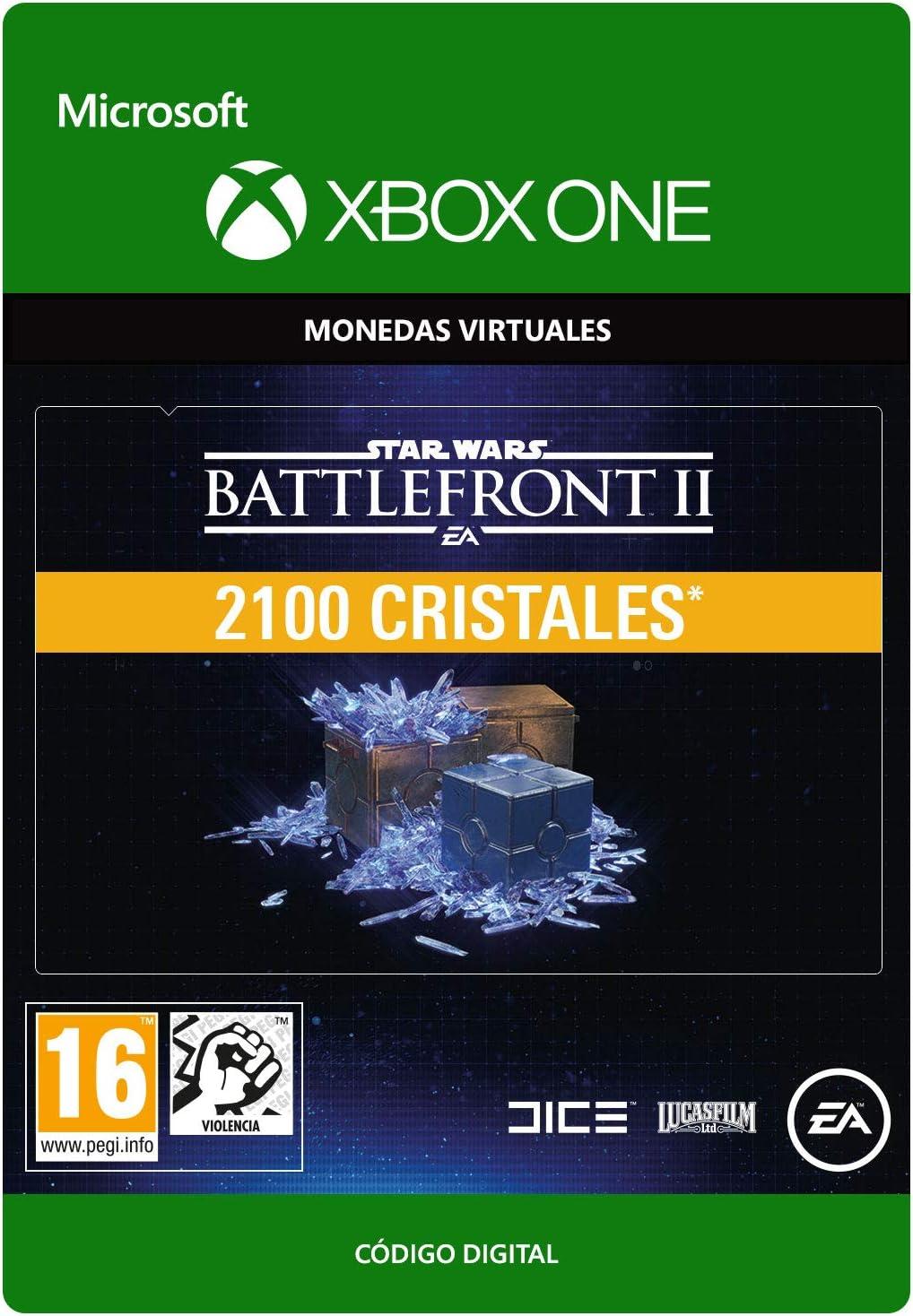 STAR WARS BATTLEFRONT II 2100 CRYSTALS - Xbox One - Código de descarga: Amazon.es: Videojuegos
