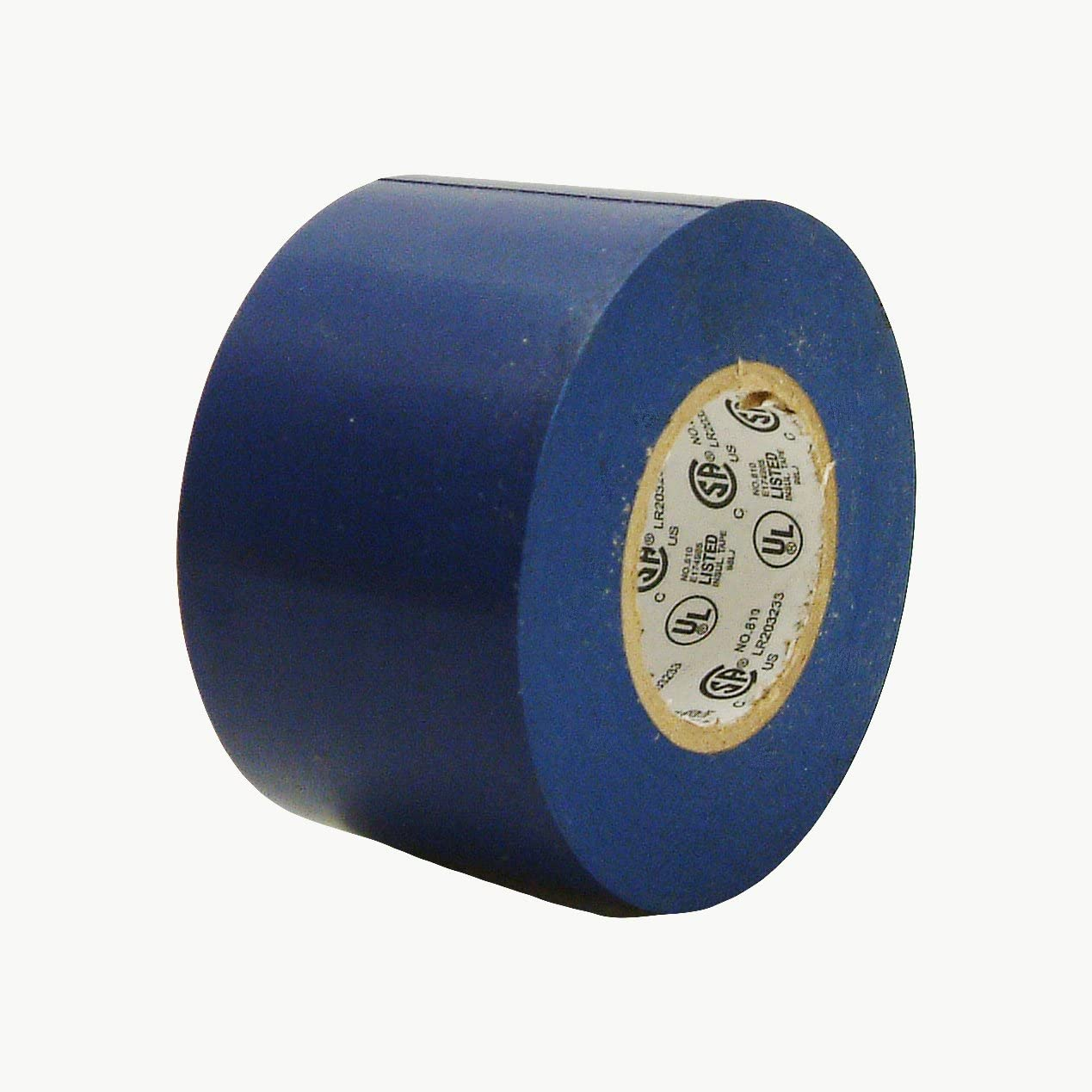 JVCC E-Tape Colored Electrical Tape x 66 ft. 2 in Blue