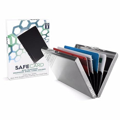 Amazon.com: safecard® RFID bloqueo – Protector de titular de ...