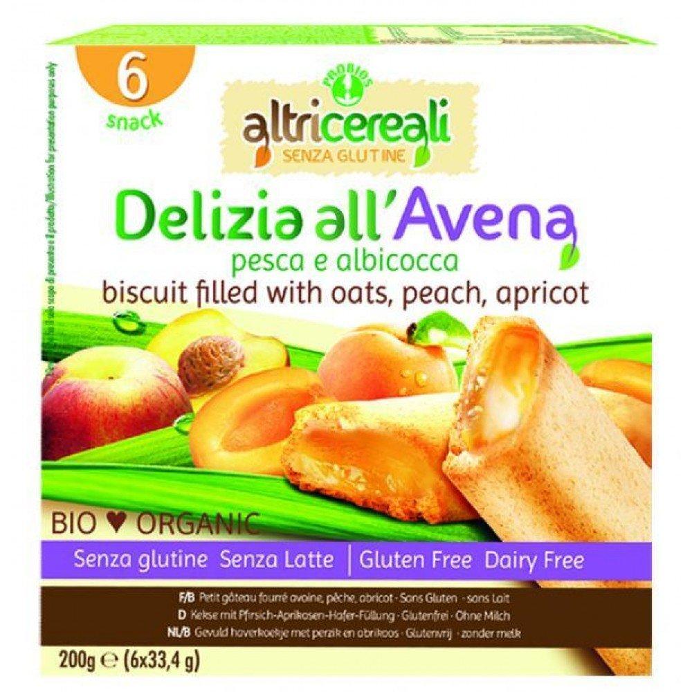 Altricereali Delight Avena melocotón y albaricoque Orgánica 200g: Amazon.es: Salud y cuidado personal