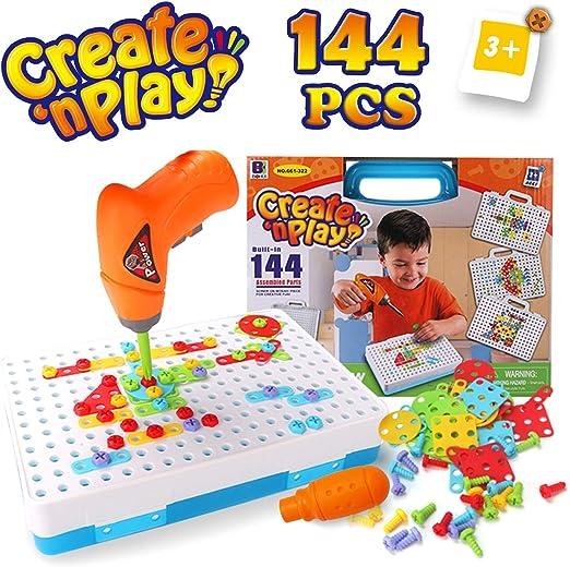 TTXLY Juguete de Tornillo para niños y niñas de 3 a 6 años de Edad ...