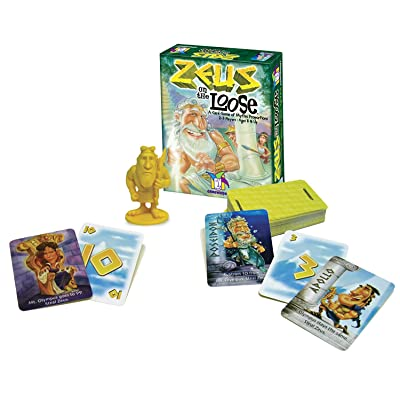 Zeus on the Loose: Staff: Toys & Games