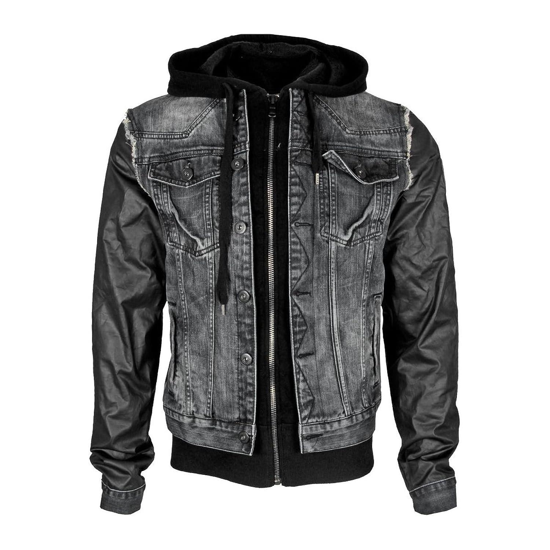 &AMP, Cipo Baxx Men's Light Jacket-Rocker Black