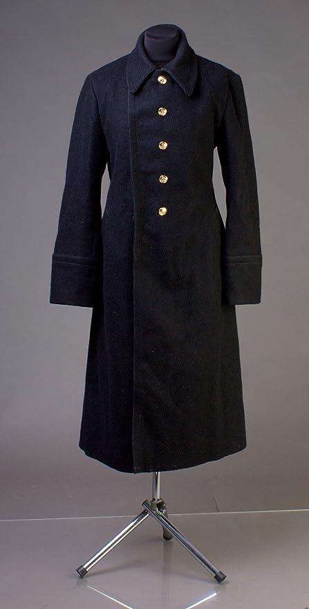 0da3e092d3 Amazon.com : USSR Russian Soviet Navy Sailor Uniform Black Overcoat ...