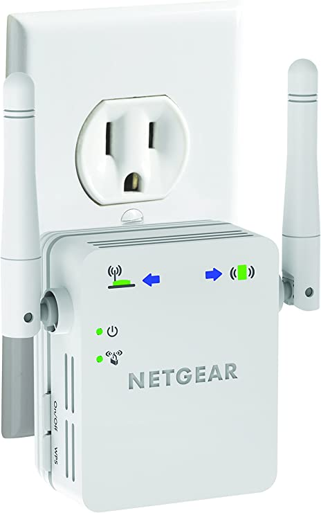 NETGEAR Universal Wi-Fi Range Extender with Ethernet port White