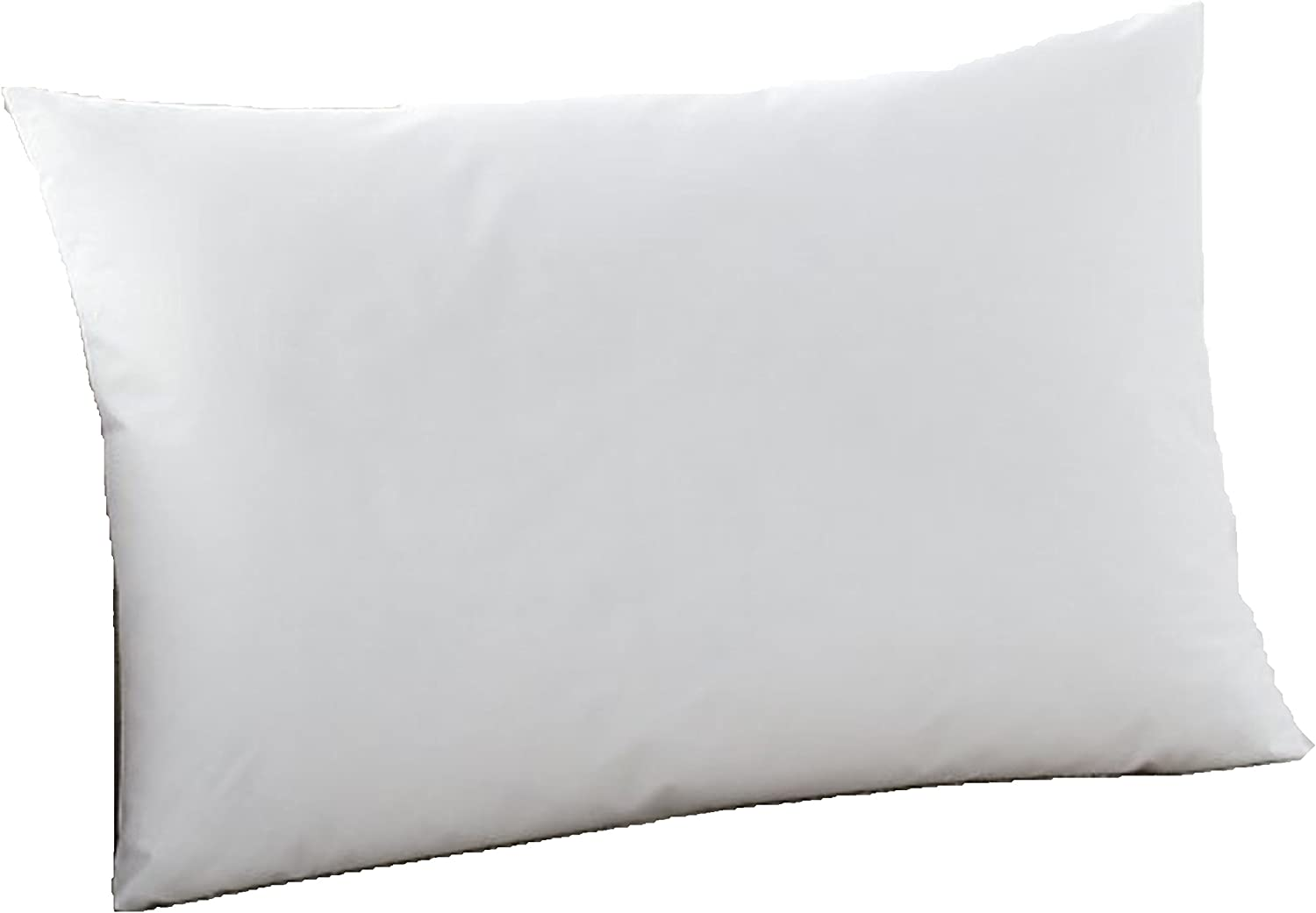 Amazon Com Moonrest Lumbar Pillow Form Insert Hypoallergenic Sham Stuffer 100 Polyester Microfiber Fill Lined With Woven Cotton Blend Cover For Decorative Pillow Couch Sofa Bed Cushions 13 X 20 Home Kitchen
