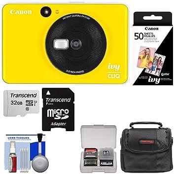 Amazon.com: Canon Ivy Cliq - Impresora de cámara digital ...