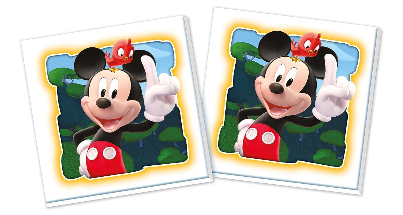 Clementoni Mickey Mouse Club House - Memo, Juego de Memoria 117574