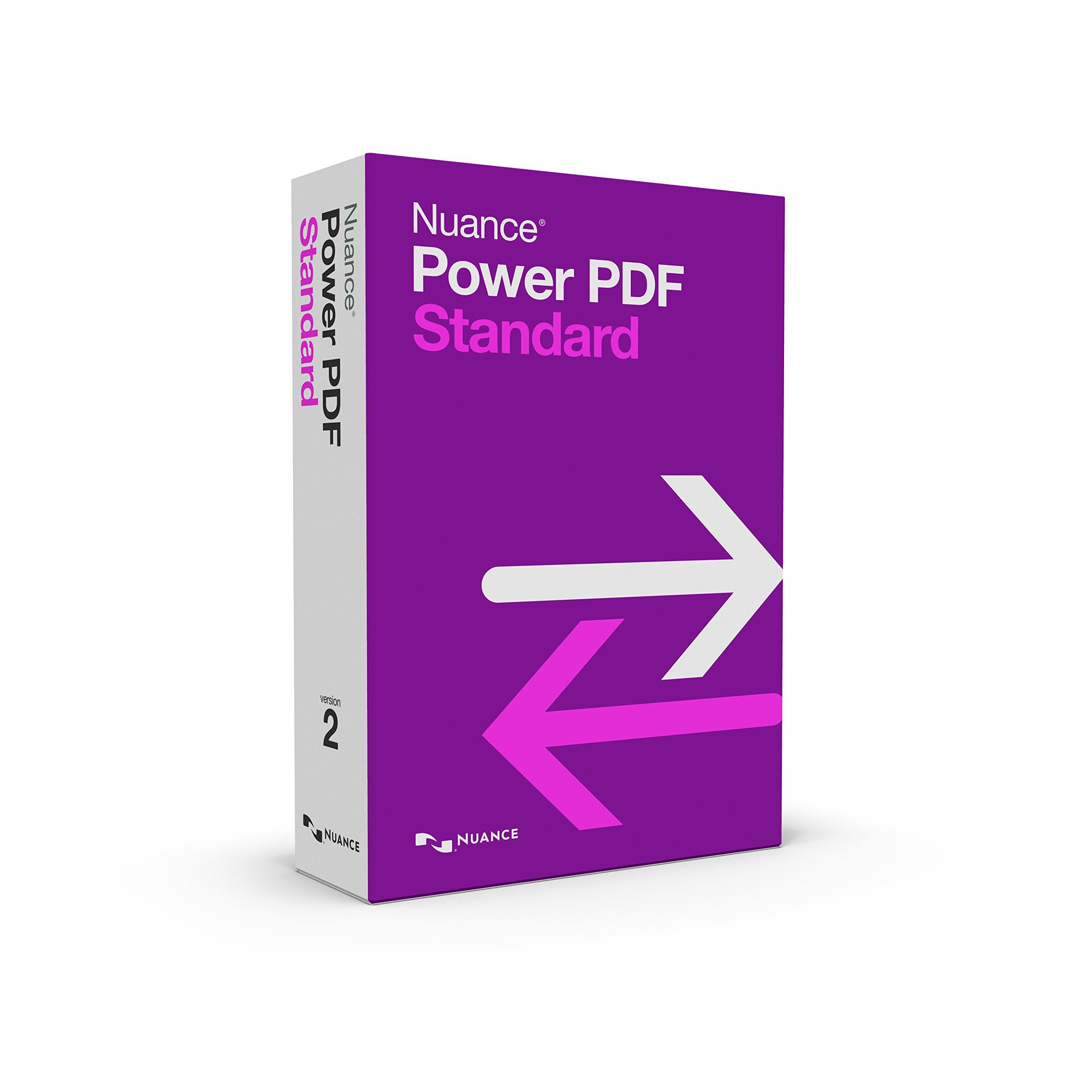 Power PDF Standard 2.0 (Old Version) by Nuance Power PDF
