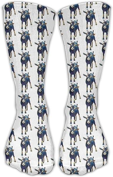Funny Goat Mens Womens Fashion Athletic Sports Socks
