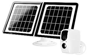 Lynx Solar Weatherproof Outdoor Wifi Surveillance Camera