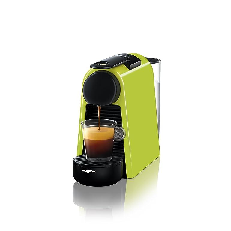 Nespresso Essenza Mini Coffee Machine, Lime Green finish by ...